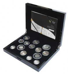 2011 Silver Proof Set for sale